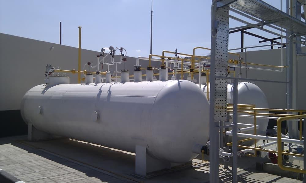 Емкости для хранения газа